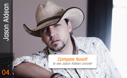 Compare Jason Aldean Tickets - Special Events