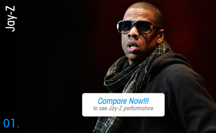 Compare Jay-Z Tickets - Special Events