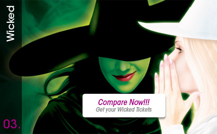 Compare Wicked Tickets - Special Events